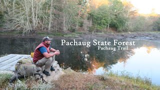 Backpacking: Solo Overnight oฑ the Pachaug Trail
