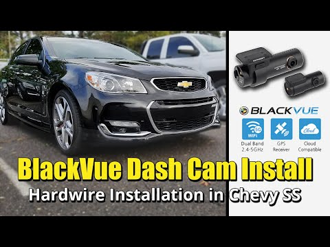 How To Hardwire BlackVue Dash Cam With MotoPark Multi Safer In 2014 - 2017 Chevy SS