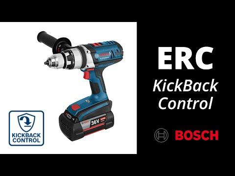Taladros sin cable Bosch Professional con sistema de protección ERC (Electrónic Rotation Control)