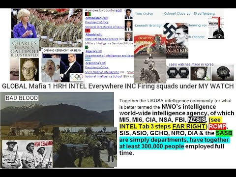 GLOBAL Mafia 1 HRH INTEL Everywhere INC Firing squads under MY WATCH