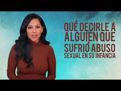 ¿Qué Decirle a Alguien Que Sufrió Abuso Sexual en Su Infancia