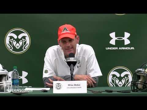 CSU Football vs. Illinois State: Mike Bobo Press Conference