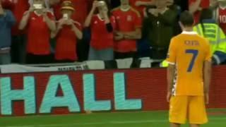 уэльс - Молдавия 4:0 обзор матча 05.09.16