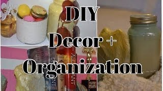 DIY- Room Decor & Organization [HD] Thumbnail