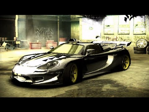 Need for Speed Most Wanted Black Edition: Porsche Carrera GT