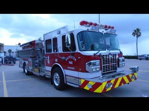 GALVESTON, TEXAS: 24 HRS BEFORE HURRICANE HARVEY