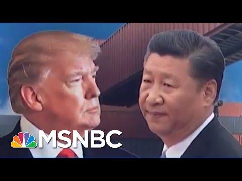 China Is Calling President Donald Trump's New Tariffs 'Blackmail' | Velshi & Ruhle | MSNBC