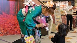 アリオ鷲宮 寅谷利恵子歌謡ショー(1回目) 埼玉県久喜市.