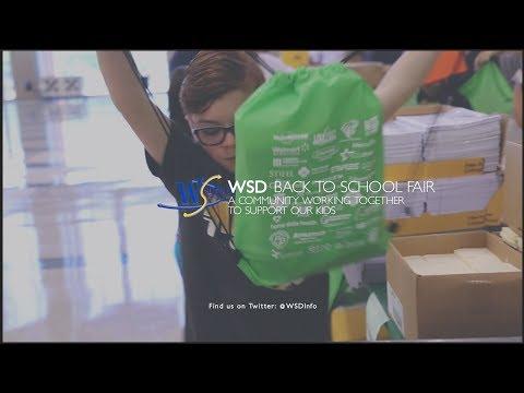 The WSD Back to School Fair 2018