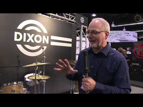 Dixon Introduces New Product Lineup at the NAMM Show 2018 | Booth Walk Through Video