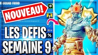 🔴[LIVE FORTNITE] I DEBLOQUE THE SECRET SKIN ROI OF THE FEU At 4pm🔥! THANKS TO THE NEW CHALLENGES WEEK 9