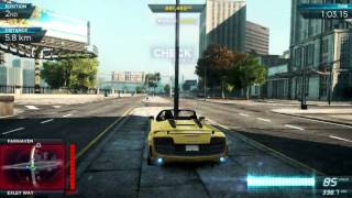 Need For Speed: Most Wanted 2012 - Audi R8 GT Spyder vs. Pagani Huayra