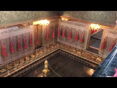 Inside the Mausoleum of Mohammed V