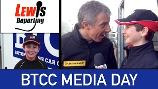 Dunlop BTCC Media Day 2015 - Jason Plato Team BMR