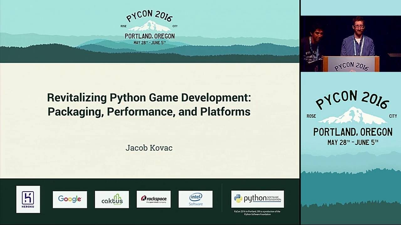 Image from Revitalizing Python Game Development- Packaging, Performance, and Platforms