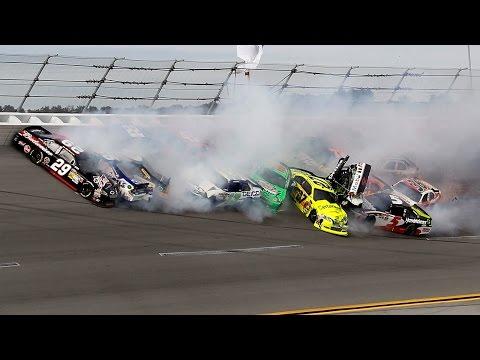 Mega NASCAR Crash Compilation 100+ Crashes!