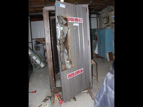 Двери выдержали 4 часа взлома.  Воры домушники будут в шоке