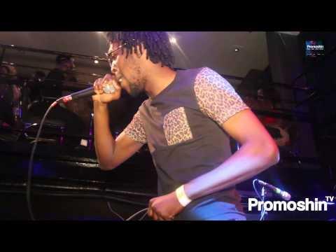 Watch- SELECTA AFF Perform 'EL Shaddai' (LIVE) at #AfrobeatsLive