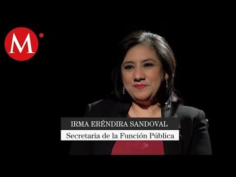 Irma Eréndira Sandoval, Secretaria de la Función Publica | Tragaluz