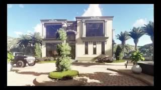 Villa in Saudi Arabia -3d animation video-