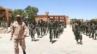 ليبيا تعمل على تشكيل جيش نظامي للقضاء على الجماعات المسلحة