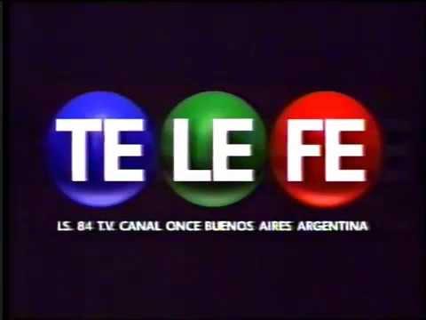 Telefe  (Argentina)- Inicio Transmisión Setiembre 1997 -