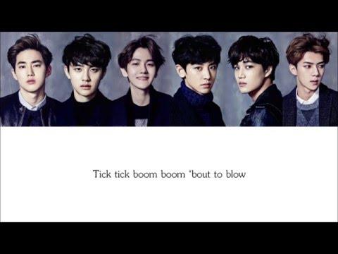 Lyrics EXO-K - TRANSFORMER [Hangul/Romanization/English] COLOR CODED