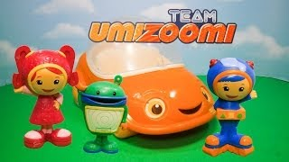 TEAM UMIZOOMI Nickelodeon Umirfic Umicar Milli Bot an Geo Toys Car Video
