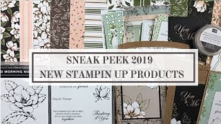 Sneak Peek Stampin Up 2019 - 2020 NEW Annual Catalog Products