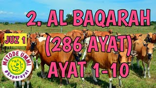 Download Al Baqarah Metode Ummi Ayat 1-10, 5x ulang per ayat