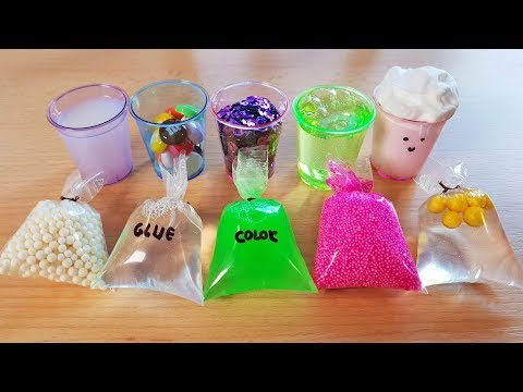 Slime cu Pungi si Pahare Mici - Slime with Mini Bags and Cups