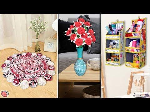 Totally Reuse Idea !!! 10 Best DIY Room Decor 2019