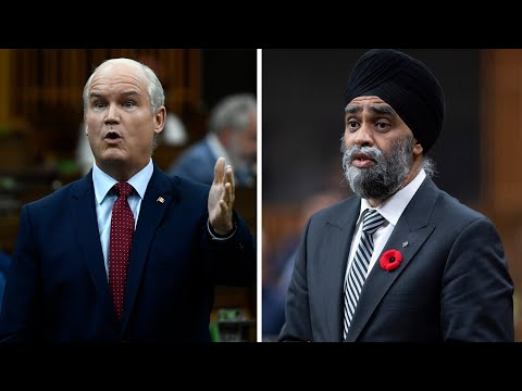 O'Toole wants Sajjan fired for military misconduct scandal