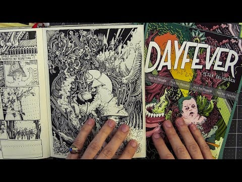Sketchbook Tour: Dayfever (an Abstract Comic)