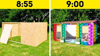 Great DIY House Crafts And Backyard Ideas That You'll Want To Try || Home Decor Ideas And Bushcraft