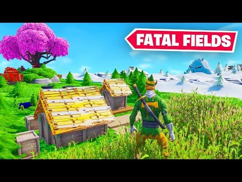 Fortnite But The Map Is TINY!