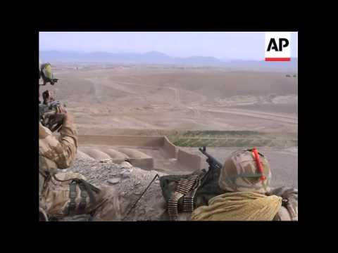 Southern Afghan battle leaves British commando, 16 Taliban dead
