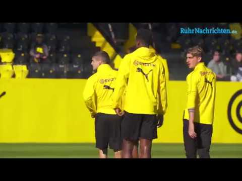 BVB-Training am 27.  September