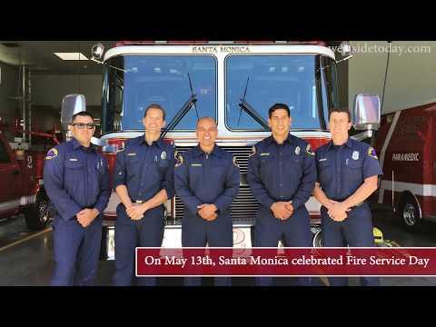 Fire Service Day in Santa Monica