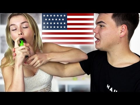 TRYING WEIRD AMERICAN CANDY! W/Jelly