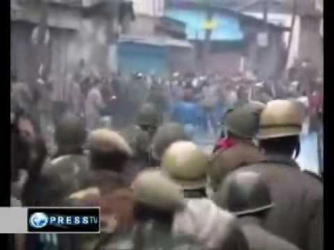 Protest against Indian military occupation persists in Kashmir - PressTV 091212