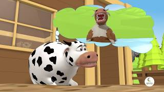 Benekli Cow 🐄🐄 - Fairy Tale - Cartoon Film 😄