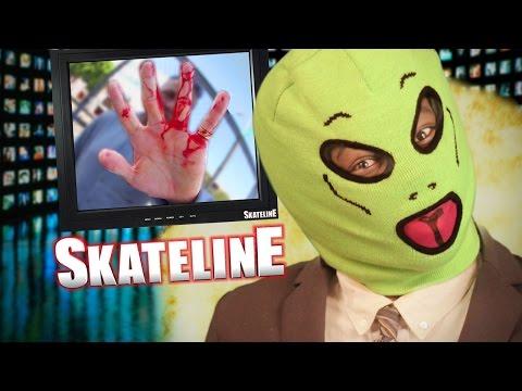 SKATELINE - The Gonz, Chris Joslin Best Am, Chris Chann, New Alien rider, and more...
