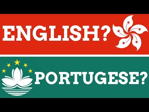 Why Do Hong Kong & Macau Have English & Portugese Place Name