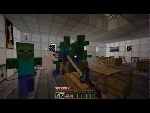 Minecraft: Zombie Survival Map (Download Link In Description) - YouTube