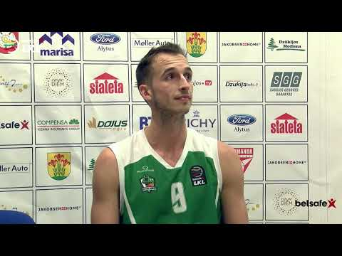 """""""Betsafe-LKL"""" rungtynių komentarai: """"Dzūkija"""" - """"Juventus"""" [2017-10-14]"""