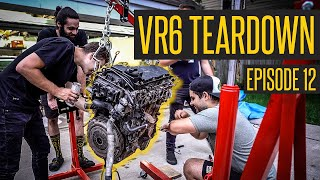 Pulling Apart The Junk VR6 // 400HP VR6 Turbo Jetta MK2 Build Continues