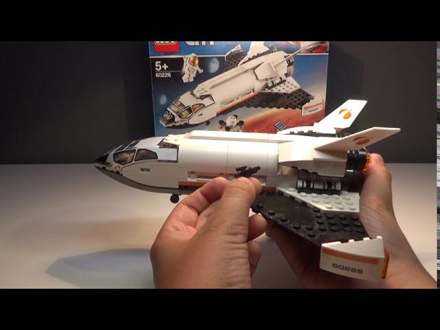 LEGO® City Mars Forschungsshuttle 60226 Review |Deutsch/German|Brick on Block|