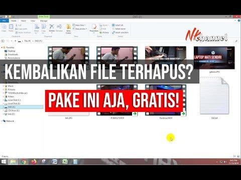 Cara Mengembalikan File Yang Terhapus Di Flashdisk.