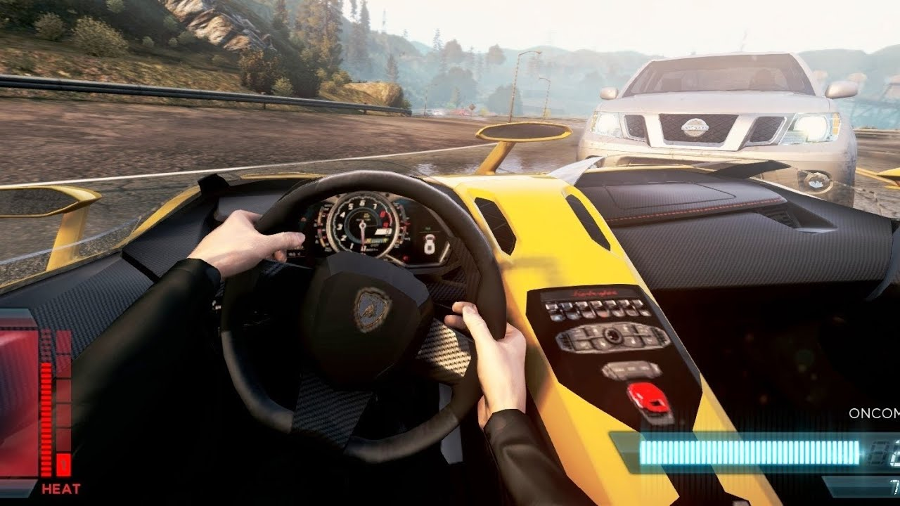 Most Wanted 2012 Cockpit View Aventador J Police Chase Youtube